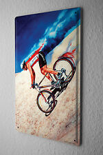 H. L. Koehler Sports Tin Sign Bicycle racers desert Metal Plate