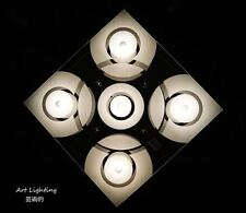 clear glass ceiling light DYKC009 Modern contemporary lighting living  bedroom