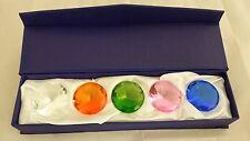 5 Crystal Diamond Cut Shape Paperweight Glass Gem Display Gift Ornament 5cm 50mm