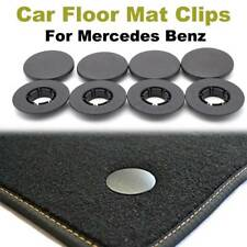 8-PC OE QUALITY Floor Mat Clips Fixings For Mercedes Benz A B C E Carpet Buttons