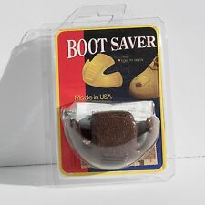 Boot Saver Toe Guards Boot Repair Work Boot Protector NEW BROWN One Pair
