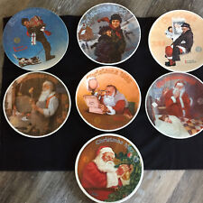 The Edwin M Knowles Christmas Plate Collection Rockwell Society of America