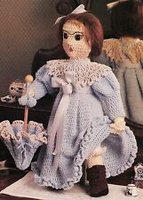LOVELY Antique Doll/Toy/Crochet Pattern INSTRUCTIONS ONLY