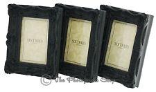 TRIPLEPACK  Sixtrees Chelsea Ornate Vintage Antique Black Photo frames - 6x4