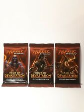 3x Hour of Devastation Booster Pack englisch - MtG Magic the Gathering