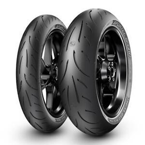 Metzeler Sportec M9 RR Front & Rear Tyres 120/70-17 & 190/55-17 Motorcycle Tyre