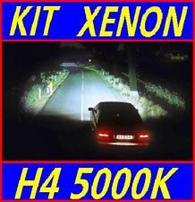 KIT SET FARI XENON CENTRALINE SLIM AUTO MOTO LAMPADE H4 5000K HID + LED W5W T10