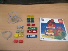 LEGO 816 Leuchtsteine SET 4,5 / 12Volt Laterne Lampe - Eisenbahn Beleuchtung