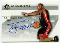 DWYANE WADE 2003-04 UD Upper Deck SP Authentic Signatures RC Auto Autograph Card