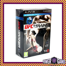 UFC Trainer Bundle Leg Strap Included PS3 (Sony PlayStation 3) Brand New