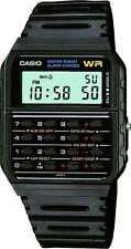 Black Casio Unisex Retro Calculator Stopwatch Vintage Sports Watch CA-53W-1ER
