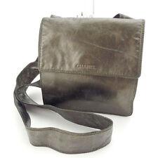 Chanel Shoulder bag Logo Bronze Woman Authentic Used Y4999