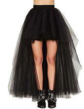 Women Layers Soft Tulle Skirt Long Dress Princess Ballet Tulle Tutu Dance Skirt