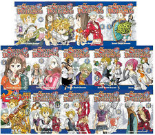 The Seven Deadly Sins Manga Book Series By Nakaba Suzuki Volumes 1-14 Brand NEW