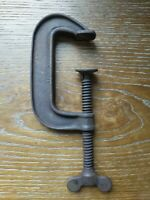 Vintage Iron No. 4 C-Clamp Large Woodworking Tool