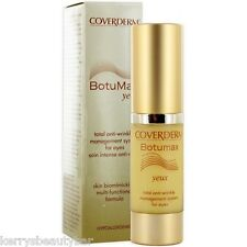 COVERDERM BOTUMAX YEUX TOTAL ANTI WRINKLE MANAGEMENT SYSTEM FOR EYES - 15ML !!