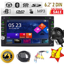 """Fit Nissan 6.2"""" 2DIN Touch Screen Car Stereo DVD Player Bluetooth Radio+Cam GPS"""