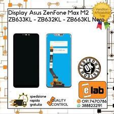 DISPLAY LCD TOUCH SCREEN ASUS ZENFONE MAX M2 ZB633KL ZB632KL X01AD NERO SCHERMO