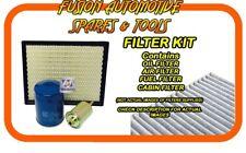 Oil Air Fuel Cabin Filter Service Kit for NISSAN Pathfinder R51 V9X 10/10-on