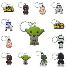 Cute Key Chains Star Wars Mini Cartoon Figure Key Ring Kids Toy Gift - Free Ship