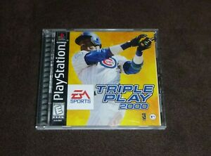 Triple Play 2000 (Sony PlayStation 1, 1999 PS1)