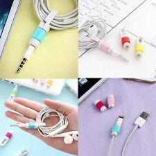 Cable Cord Management Ear Bud Earphone Headphone For Apple Ipod Iphone Ipad