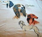 Saluki T-shirt ~ White ~ Size MED ( 38 ~ 40 )