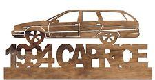 1994 Chevrolet Caprice Station Wagon Handmade Wooden Car Automobile Decor Plaque