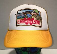 Vintage Winchester Mesh Trucker Snapback Hat Hunting
