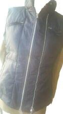 Benetton BNWOT black,multi-pocketed anorak/jacket/insulated gilet/jacket sz M