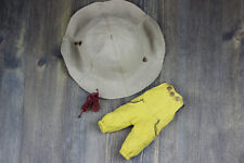 Blythe clothes dolls headdress pants overalls Yellow footwear accesories outfit
