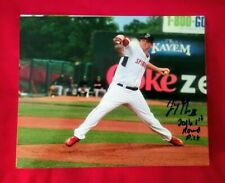 JAY GROOME SIGNED PHOTO w/ INSCRIPTION Red Sox TOP PROSPECT Lowell Spinners Auto