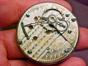 Hamilton 18S 21J 940 Open Face Leverset Nickel Movement