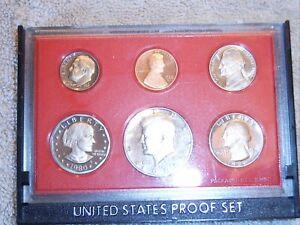 PROOF SET BOXES NO COINS * 1980 U.S