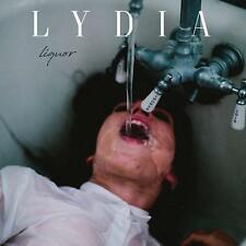 Lydia Liquor Clear w/White & Blue Smoke Vinyl (PA)