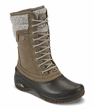 The North Face Shellista II Mid Women  Round Toe Leather Brown Snow Boot size 9