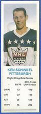 1970-71 Dad's Cookies - KEN SCHINKEL - Pittsburgh (ex)