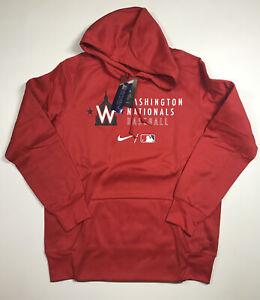 2021 Nike Authentic Collection Washington Nationals Sweatshirt Size Large NWT