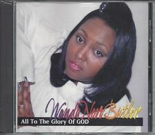 WANDA NERO BUTLER  All To The Glory Of God  New Sealed Gospel CD  rare OOP HTF