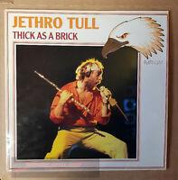 Jethro Tull-Thick As A Brick LP Vinyl Schallplatte Sammlung-Rock Platinum-D 1985