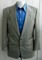 GIEVES & HAWKES Savile Row Gray Glen-Check Wool 2-Button Vented Blazer 40R