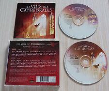 2 CD ALBUM LES VOIX DES CATHEDRALES VOL 2  32 TITRES 2002 GRANDS CHOEURS SACRES