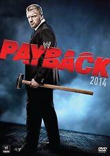 WWE: Payback 2014 (DVD, 2014) In Jewel Case, See Description