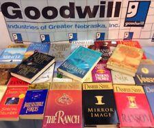 Lot of 10 Danielle Steel Books, RANDOM Hardcover & Paperback Novels