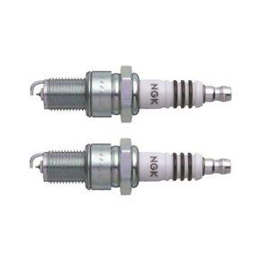 Fits Fiat 131 Audi 4000 Honda 600 Set of 2 Spark Plugs NGK Resistor BPR 6 EIX 11
