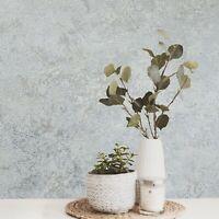 Plain Modern foil silver gray metallic tan faux crushed silk textured Wallpaper