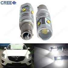2x BAX9s H6W 434 CREE LED 25W Tagfahrlicht Innenbeleuchtung Standlicht Birne 12V