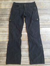 KUHL Women's Vintage Patina Dye Black Splash Roll-Up Hiking Pants 2