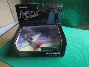 CORGI FIGHTER SCRAMBLE P-51D MUSTANG BOMBER ESCORT (LOT J49) BOXED