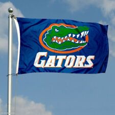 FLORIDA GATORS FLAG 3'X5' UNIVERSITY OF FLORIDA: FREE SHIPPING